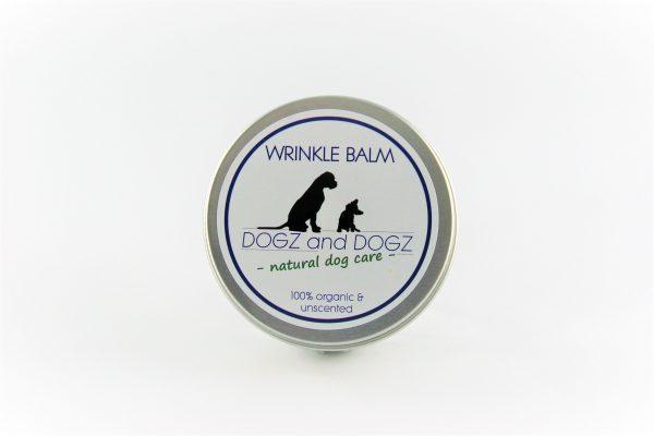 100% natural dog wrinkle balm for wrinkly dog faces