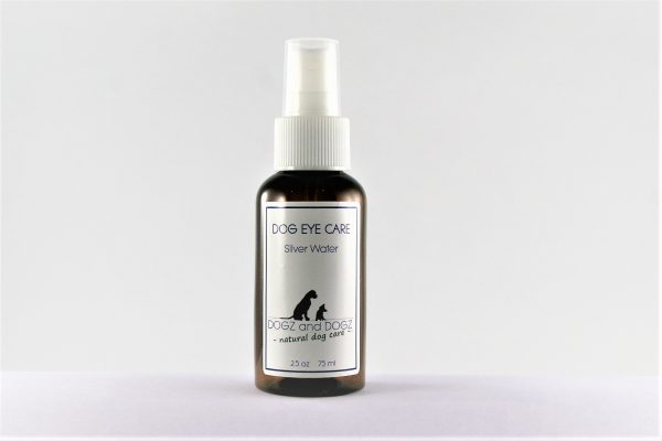 100% natural Dog Eye Care Spray with Silverwater